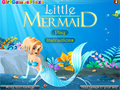 Lojë Little Mermaid Dress Up  online - lojra online