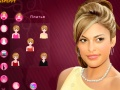 Lojë Eva Mendes Make-up online - lojra online
