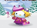Lojë Hello Kitty Dimrit Dress-Up  online - lojra online